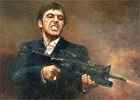 Pacino With Gun Magnet