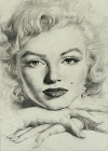 Marilyn Portrait Magnet