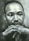 Martin Luther King Jr Magnet