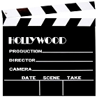 Wooden Clapboard 12 Inch Sq. Hollywood