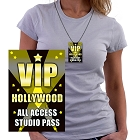 Hollywood Access ID Necklace