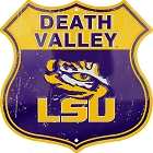 Louisana State Death Valley Shield
