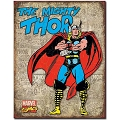 Mighty Thor Retro Metal Sign