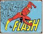 The Flash Retro Metal Sign