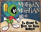 Marvin the Martian Metal Sign