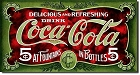 Coke Antique Coca-Cola Metal Sign