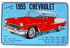 Chevy 1955 Metal Sign