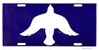 Dove of Peace License Plate