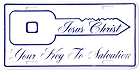 Jesus - Key To Salvation License Plate