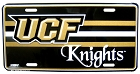 UCF Knights New License Plate