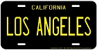 Los Angeles License Plate