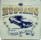 Ford Mustang 45 Years Large Parking Sign