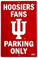 Indiana University Hoosiers Large Parking Sign