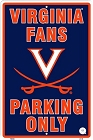 University of Virginia Large Parking Sign