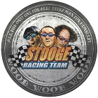 3 Stooges Racing  Round Sign