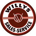 Willys Round Sign