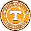 University of Tennessee Volunteers Round Sign