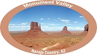 AZ Monument Valley Sticker