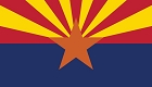AZ State Flag Sticker