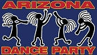 AZ Dance Party - Kokopelli Sticker