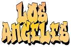 CA Los Angeles Large Sticker