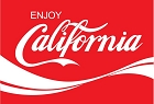 CA Enjoy California Large Sticker