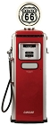 Route 66 Antique Gas Pump Large Sticker