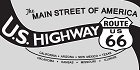 Route 66 US Highway Main St Sticker