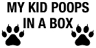 My Kid Poops in Box Sticker