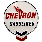 Chevron Logo Die Cut Sign