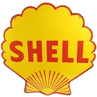 Shell Pecten Die Cut Sign