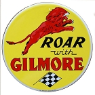 Gilmore Gas 24 inch Large Round Sign
