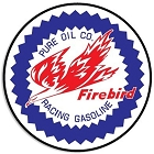 Pure Firebird 24 inch Large Round Sign
