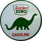 Sinclair Motor Oil 24 inch Large Round Sign