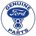 Genuine Ford Parts 24 inch Large Round Sign