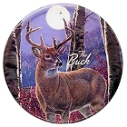 The Buck - Meger 12 inch Round Sign