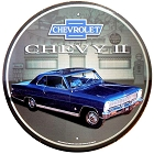 Chevy II 12 inch Round Sign
