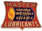 Master Lube Die Cut Sign