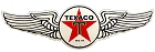 Texaco Wings Die Cut Sign