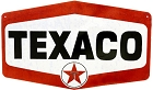 Texaco Hexagon Die Cut Sign