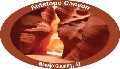 AZ Antelope Canyon Sticker