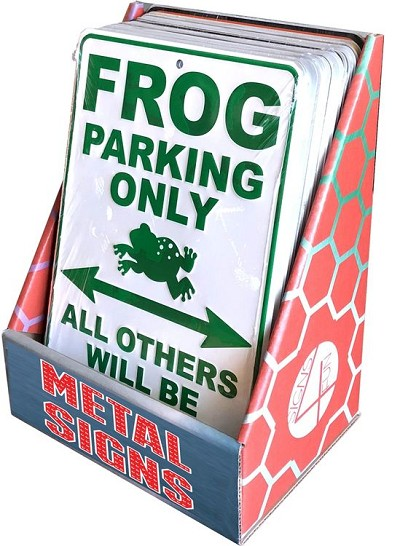 Small Parking Signs Cardboard Display