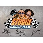 Three Stooges Racing Magnet