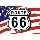 USA Rt 66 Magnet