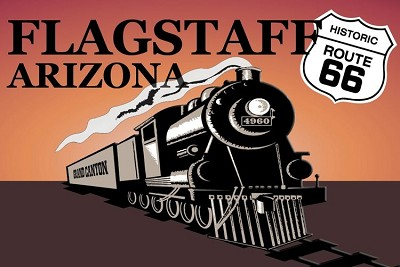 Az Train - Flagstaff Magnet