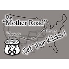 Mother Rd Rt 66 Magnet