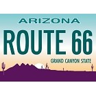 Rt 66 Plate Magnet
