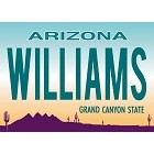 Williams License Plate