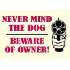 Beware of Owner Magnet