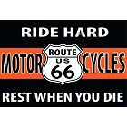 Rt 66 Ride Hard Magnet